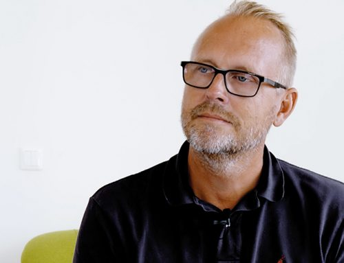 VD Bo Kjellberg presenterar halvårsrapport för 2020
