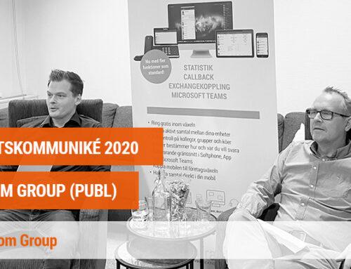 Bokslutskommuniké 2020 InfraCom Group AB (publ)