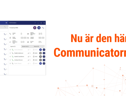 Guide – Vanligaste funktionerna i Communicatorn V2