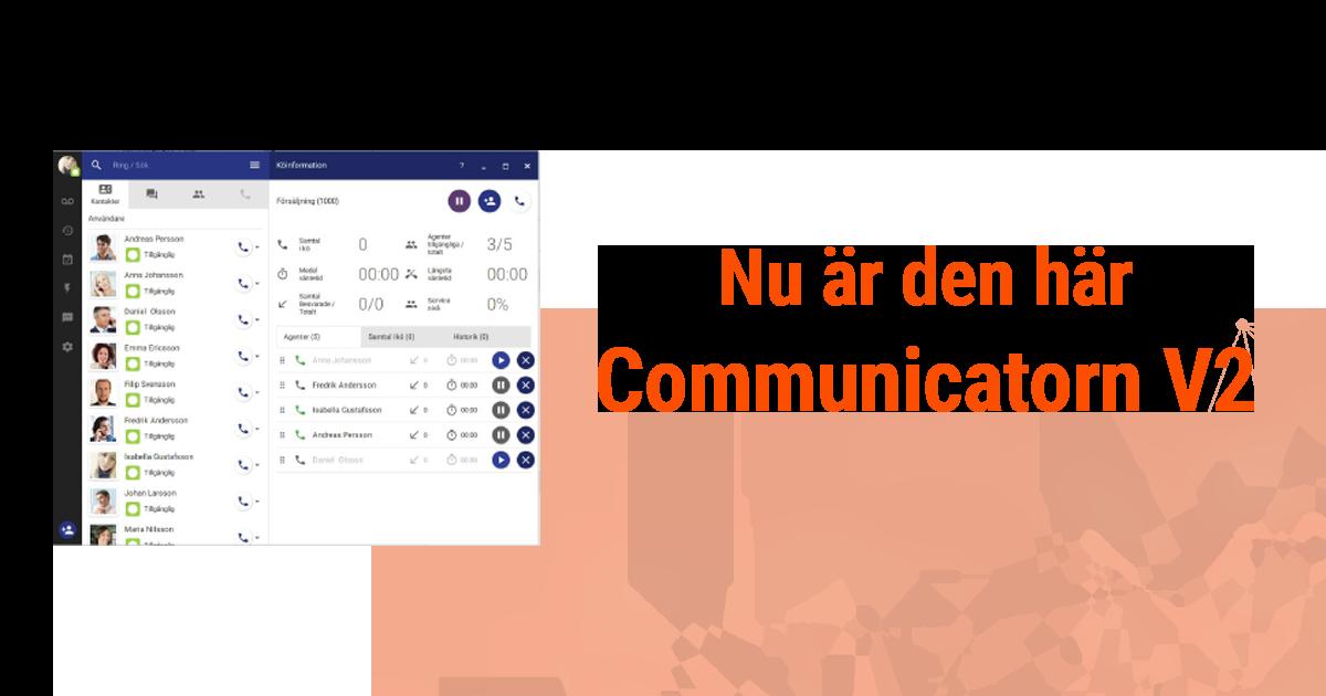 nyheter communicatorn V2