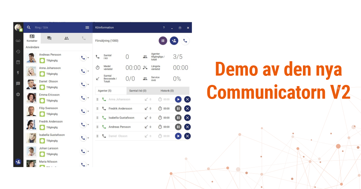 demo av nya communicatorn V2