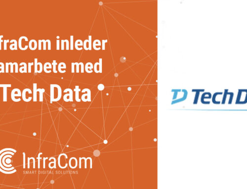InfraCom inleder samarbete med Tech Data