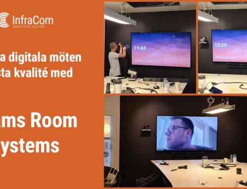 Teams Room Systems – Ge dina digitala möten högsta kvalité!